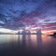 Traveling to Sunrise at , Kandui, Mentawais Islands, Indonesia March  21, 2013.