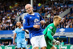 Everton's Steven Naismith reacts after missing a chance - Mandatory byline: Matt McNulty/JMP - 07966386802 - 23/08/2015 - FOOTBALL - Goodison Park -Everton,England - Everton v Manchester City - Barclays Premier League