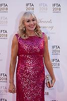 Miriam O'Callaghan at the IFTA Film & Drama Awards (The Irish Film & Television Academy) at the Mansion House in Dublin, Ireland, Thursday 15th February 2018. Photographer: Doreen Kennedy