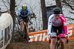 MÕTTUS Mari-Liis (EST) during Women Elite race, 2019 UCI Cyclo-cross World Cup Heusden-Zolder, Belgium, 26 December 2019.<br /> <br /> Photo by Pim Nijland / PelotonPhotos.com <br /> <br /> All photos usage must carry mandatory copyright credit (Peloton Photos   Pim Nijland)