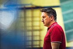 Samo Miklavc, head coach of Nova KBM Branik during 3rd Leg Volleyball match between Calcit Volley and Nova KBM Maribor in Final of 1. DOL League 2020/21, on April 17, 2021 in Sportna dvorana, Kamnik, Slovenia. Photo by Matic Klansek Velej / Sportida