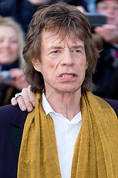 © Licensed to London News Pictures. 04/04/2016. MICK JAGGER attends The Rolling Stones Exhibition Private at The Saatchi Gallery. London, UK. Photo credit: Ray Tang/LNP