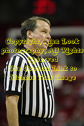 16 December 2012:  Referee John Higgins during an NCAA men's basketball game between the Morgan State Bears and the Illinois State Redbirds (Missouri Valley Conference) in Redbird Arena, Normal IL