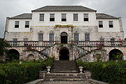 Rose Hall Great House, ex sugarcane plantation house, infamous in Jamaican folklore. Trelawny, Jamaica.