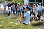 Callum Shinkwin (ENG) in action on the 18th hole during the 3rd round at the KLM Open, The International, Amsterdam, Badhoevedorp, Netherlands. 14/09/19.<br /> Picture Stefano Di Maria / Golffile.ie<br /> <br /> All photo usage must carry mandatory copyright credit (© Golffile | Stefano Di Maria)