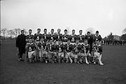 Fitzgibbon Cup Semi-Final, University College Cork v University College Galway, at Belfield. UCC Team...UCC.University College Cork.07.03.1964.