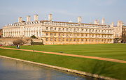 Clare College, Cambridge university, Cambridgeshire, England