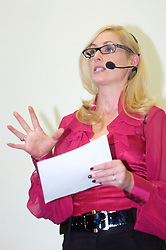 An Evening with Nicky Hambleton-Jones held at The Transform clinic Sheffield 2 April 2009 © Paul David Drabble