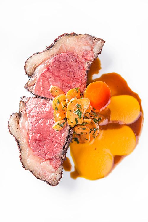 Food photography. Restaurant L'Orignal, Montreal. Chef Dan Geltner. 2012.