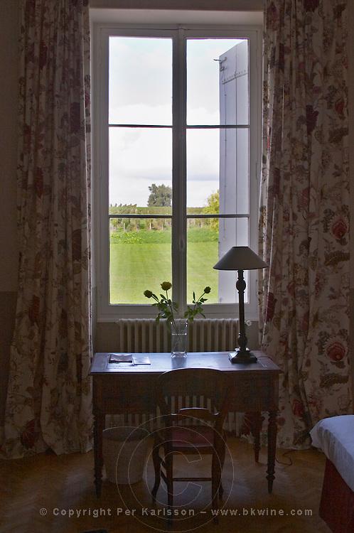 The interior. Chateau Richelieu, Fronsac, Bordeaux, France