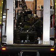 NLD/Huizen/20080108 - Verdacht pakketje gevonden Oostkade Huizen, robot
