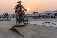 Always Fun To Hit Jumps - https://Duncan.co/Burning-Man-2021