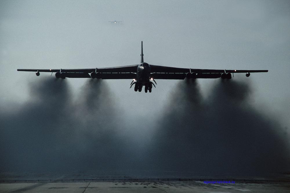 B-52G takeoff