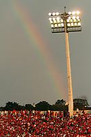 20111009: PORTO ALEGRE, BRAZIL -  Football match between Internacional and Vasco da Gama at Beira Rio stadium in Porto Alegre. In picture Internacional fans<br /> PHOTO: CITYFILES