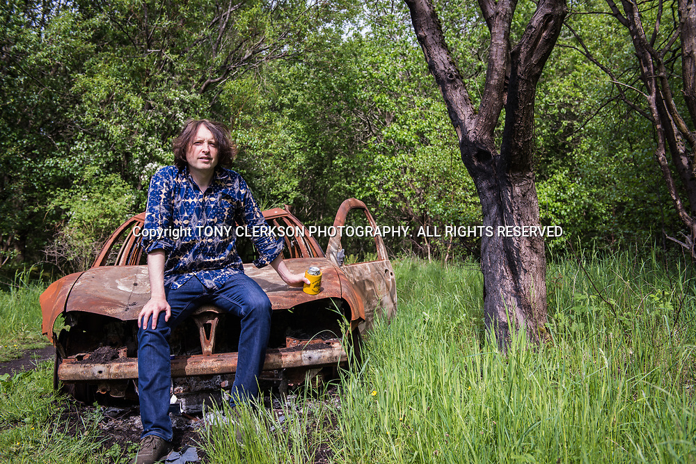 Promo shots for Kev Sherry's solo releases