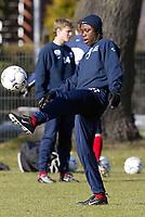Testspieler Kojo POKU<br /> Fu§ball Training Hamburger SV
