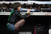 """Inga Copeland  performs at """"""""Espacio Fundación Telefónica"""" in  Madrid"""