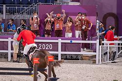 Balsiger Bryan, SUI, Twenty Two Des Biches, 381, Team Switzerland<br /> Olympic Games Tokyo 2021<br /> © Hippo Foto - Dirk Caremans<br /> 06/08/2021