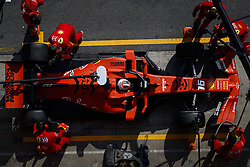 February 21, 2019 - Barcelona Barcelona, Espagne Spain - LECLERC Charles (mco), Scuderia Ferrari SF90, action pitstop during Formula 1 winter tests from February 18 to 21, 2019 at Barcelona, Spain - Photo  Motorsports: FIA Formula One World Championship 2019, Test in Barcelona, (Credit Image: © Hoch Zwei via ZUMA Wire)