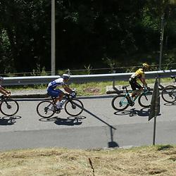 15-08-2020: Wielrennen: Il Lombardia: Como <br /><br />In de groep (121) Remco Evenepoel