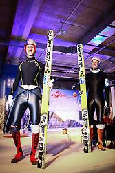 19.10.2012, Shoppingcity Seiersberg, Graz, AUT, OeSV Einkleidung 2012, im Bild Gregor Schlierenzauer und Andreas Kofler // during the official Presentation of the Austrian Ski Team Fashion at the Shoppingcity Seiersberg, Graz, Austria on 2012/10/19. EXPA Pictures © 2012, PhotoCredit: EXPA/ Patrick Leuk