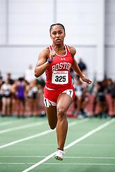 David Hemery Valentine Invitational<br /> Indoor Track & Field at Boston University , womens 60 meters, heat 2,  BU,