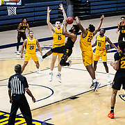December 03 2020  Berkeley, CA  U.S.A.  Arizona State Sun Devils guard Remy Martin #1 drives to the basket during the NCAA Men's Basketball game between Arizona State Sun Devils and the California Golden Bears 70-62 win at Hass Pavilion Berkeley Calif. Thurman James / CSM