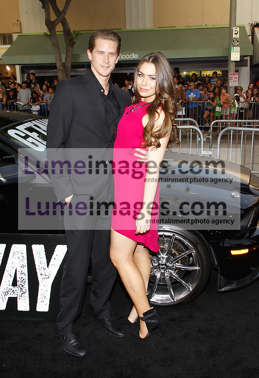 Sophie Simmons at the Los Angeles premiere of Getaway held at the Regency Village Theatre in Westwood, USA on August 26, 2013.