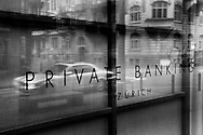 Private bank offices in Zurich