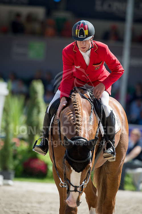 Marcus Ehning (GER) & Funky Fred - Furusiya FEI Nations Cup presented by Longines - CHIO Rotterdam 2016 - Kralingse Bos, Rotterdam, Netherlands - 24 June 2016
