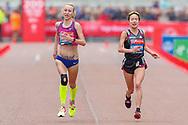 *** during the Virgin Money 2019 London Marathon, London, United Kingdom on 28 April 2019.