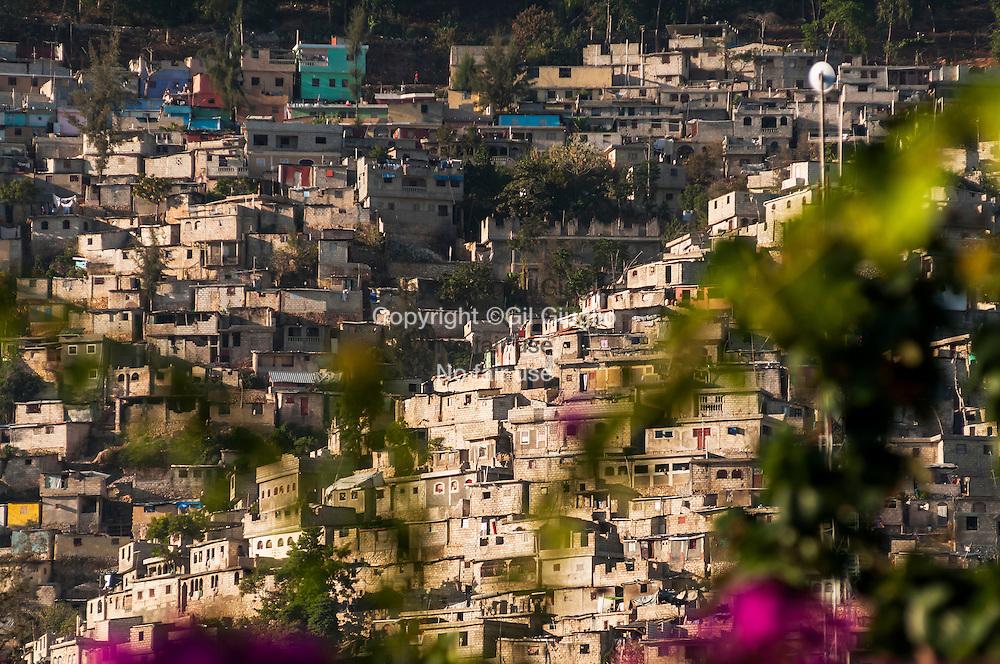 Haïti, Port-au-Prince, quartier du Canapé Vert // Haiti, Port-au-Prince, township of Canape Vert