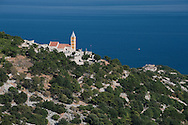 The Church of St John (Sv Ivan), on a hillside above Baška, on the island of Krk, Croatia © Rudolf Abraham