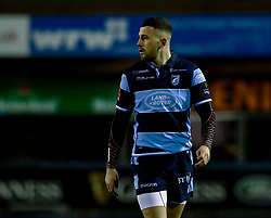 Aled Summerhill of Cardiff Blues<br /> <br /> Photographer Simon King/Replay Images<br /> <br /> Guinness PRO14 Round 14 - Cardiff Blues v Connacht - Saturday 26th January 2019 - Cardiff Arms Park - Cardiff<br /> <br /> World Copyright © Replay Images . All rights reserved. info@replayimages.co.uk - http://replayimages.co.uk