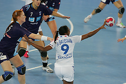 Baudouin Paule of France during handball match between National teams of Slovenia and France of 2011 Women's World Championship Play-off, on June 12, 2011 in Arena Stozice, Ljubljana, Slovenia. (Photo By Urban Urbanc / Sportida.com)