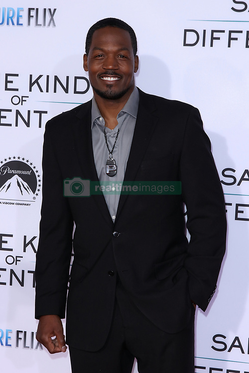 """TC Stallings at the Paramount Pictures And Pure Flix Entertainment's """"Same Kind Of Different As Me"""" Premiere held at the Westwood Village Theatre on October 12, 2017 in Westwood, California, USA (Photo by Art Garcia/Sipa USA)"""