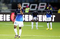 Fotball , 8. august 2013 , Europa League , Third Qual.<br /> Strømsgodset - Jablonec<br /> <br /> Ole Kamara , SIF , er skuffet etter tap