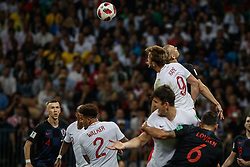 July 11, 2018 - Moscow, Vazio, Russia - Ball in England during a game between England and Croatia valid for the semi final of the 2018 World Cup, held at the Lujniki Stadium in Moscow, Russia..Croatia wins 2-1. (Credit Image: © Thiago Bernardes/Pacific Press via ZUMA Wire)