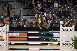 Karaevli Omer, TUR, Cortani<br /> Jumping Indoor Maastricht 2016<br /> © Hippo Foto - Dirk Caremans<br /> 12/11/2016