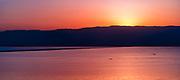 Sunrisie on the Dead Sea