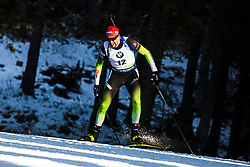 Jakov Fak (SLO) during the Men 20 km Individual Competition at day 1 of IBU Biathlon World Cup 2019/20 Pokljuka, on January 23, 2020 in Rudno polje, Pokljuka, Pokljuka, Slovenia. Photo by Peter Podobnik / Sportida