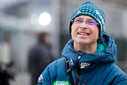 Igor Medved, assistant coach during testing jumps at Ski jumping Flying Hill One day before FIS World Cup Ski Jumping Final Planica 2018, on March 21, 2018 in Ratece, Planica, Slovenia. Photo by Urban Urbanc / Sportida
