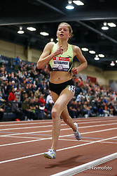 2020 USATF Indoor Championship<br /> Albuquerque, NM 2020-02-14<br /> photo credit: © 2020 Kevin Morris<br /> womens 3000m, Brooks,