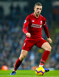 File photo dated 03-01-2019 of Liverpool's Jordan Henderson during the Premier League match at the Etihad Stadium, Manchester.
