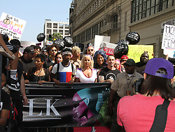 The Third Annual Amber Rose SlutWalk in Downtown Los Angeles. 01 Oct 2017 Pictured: Amber Rose. Photo credit: River / MEGA TheMegaAgency.com +1 888 505 6342