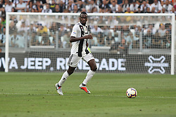 August 25, 2018 - Turin, Piedmont, Italy - Blaise Matuidi (Juventus FC)  during the Serie A football match between Juventus FC and SS Lazio at Allianz Stadiumon august 25, 2018 in Turin, Italy. (Credit Image: © Massimiliano Ferraro/NurPhoto via ZUMA Press)
