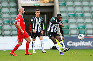 Plymouth Argyle's Hiram Boateng during the Sky Bet League 2 match between Plymouth Argyle and York City at Home Park, Plymouth, England on 28 March 2016. Photo by Graham Hunt.