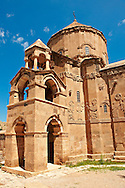 10th century Armenian Orthodox Cathedral of the Holy Cross on Akdamar Island, Lake Van Turkey 78 .<br /> <br /> If you prefer to buy from our ALAMY PHOTO LIBRARY  Collection visit : https://www.alamy.com/portfolio/paul-williams-funkystock/lakevanturkey.html<br /> <br /> Visit our TURKEY PHOTO COLLECTIONS for more photos to download or buy as wall art prints https://funkystock.photoshelter.com/gallery-collection/3f-Pictures-of-Turkey-Turkey-Photos-Images-Fotos/C0000U.hJWkZxAbg