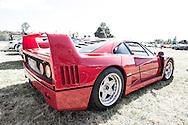 Ferrari F40 - Custom Cars & Coffee November 2014