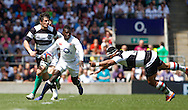 Picture by Andrew Tobin/Focus Images Ltd +44 7710 761829.26/05/2013.Christian Wade in action during the match between England and the Barbarians at Twickenham Stadium, Twickenham.